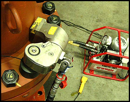 Hydraulic torque Wrench and Pump