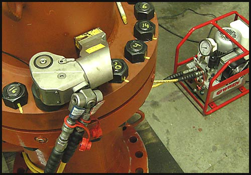 Hydraulic Amp Pneumatic Torque Wrench Application Videos